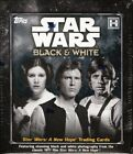 2018 TOPPS STAR WARS A NEW HOPE: BLACK & WHITE HOBBY BOX