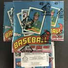 1989 Topps Baseball BBCE wrapped 36 pack box FASC From A Sealed Case Johnson RC