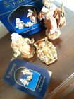 Fontanini Nativity Holy Family set Jesus Mary Joseph standing 5+card  Box