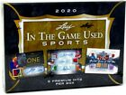 2020 LEAF IN THE GAME GAME USED SPORTS 10 BOX CASE