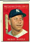 Comprehensive Guide to 1960s Mickey Mantle Cards 39