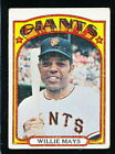 Vintage Willie Mays Baseball Card Timeline: 1951-1974 134
