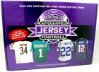 2020 LEAF AUTOGRAPHED FOOTBALL JERSEY EDITION 10 BOX CASE