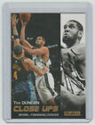 TIM DUNCAN Spurs SIGNED 2008-09 SkyBox Basketball #196 Autograph ON CARD AUTO