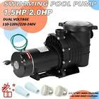 15 20HP Swimming Pool Pump Motor Hayward w Strainer Generic In Above Ground