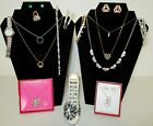 Huge Vintage Now RHINESTONE JEWELRY 20pc Lot All Wearable Estate Junk Drawer A