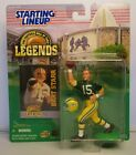 1998 BART STARR Starting Lineup Football Hall of Fame Legends Figure - PACKERS