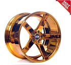 20 STR WHEELS 607 CANDY COPPER RIMS 1 set