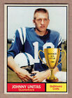 Here's Johnny! Top 10 Johnny Unitas Football Cards 15