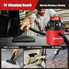 Vacmaster Car Vacuum Cleaner Portable 25 Gallon Wet Dry Shop Vac Wall Mountable
