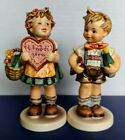 Hummel 387 & 399 Valentine Gift Joy Special Edition Collector's Club