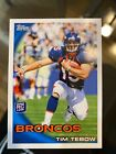 Tim Tebow's First New York Jets Cards Teased by Topps and Panini 19