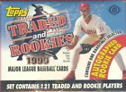 1999 Topps Traded and Rookies Complete Set Factory Sealed Hobby Box