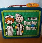 PEZ Doctor Nurse Metal Lunchbox With Thermos 2002 New With Tags Bosley Box NWT