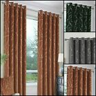 Emily Embossed Thermal Interlined Eyelet Ring Top Curtains Range Various Sizes