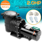 110 240v 2HP Inground Swimming Pool pump motor Strainer UL Certified USA STOCK