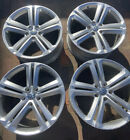 SET OF 4 VOLKSWAGEN TOUAREG 2017 21 OEM FACTORY RIMS 2 GREAT 2 CURBED W TPMSs