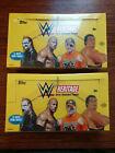 2016 Topps Heritage WWE Hobby Sealed 2 Box Lot
