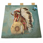 Native Indian Tapestry Wall Hanging Artist James Hautman