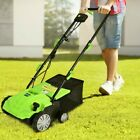 2In1 Rechargeable Durable Lawnmower With Grass Removing Blade And Collection Bag