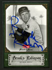 Brooks Robinson #16 signed autograph auto 2006 Fleer Greats of the Game GOTG