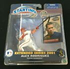 ALEX RODRIGUEZ 2001 EXTENDED SERIES TEXAS RANGERS  EDITION  STARTING LINEUP