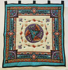Quilted Wamcraft Native American Tribal Aztec Wallhanging