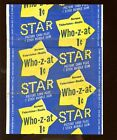 1953 Topps Who-z-at Star Trading Cards 20