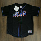 Carlos Delgado New York Mets Majestic Adult Jersey Stitched Large New Free SH