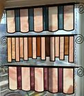 Set of 3 Beautiful  Unique Stained Glass Window Panels HandCrafted 24x9 each