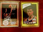 LOT of TWO 1990 Kenner Starting Lineup David Robinson (cards only) Very Rare HTF