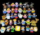 Fisher Price Little People Huge Lot 40 Animals Toy Figures Nativity DC Comics