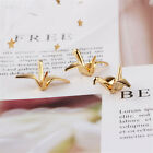 5pcs Gold Tone Assorted Deer Butterfly Crane Pendant Charms Jewelry Diy Findings