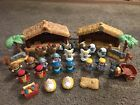 Fisher Price Little People Children Nativity Set Christmas LOT Stables Figures