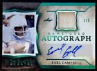 EARL CAMPBELL-2020 Leaf ITG GREEN (#1 3) JERSEY AUTO AUTOGRAPH-MINT? 1 1 Type
