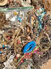 HUGE 15 lbs Vintage Mod Jewelry Lot Some Signed many Wearable Necklaces + more
