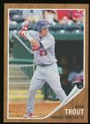 2011 Topps Heritage Minor League #44 Mike Trout Arkansas Travelers RC Rookie