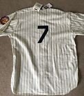 Mickey Mantle 1952 Wool Mitchell & Ness Yankees Home Jersey Size 52 2XL