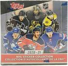 2020-21 Topps Hockey Sticker Collection Box