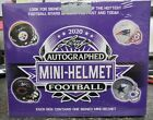 2020 LEAF AUTOGRAPHED FOOTBALL MINI-HELMET FACTORY SEALED HOBBY BOX