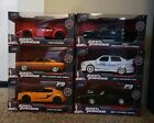 Jada Toys Fast And Furious Metal Die Cast 132 Cars Lot Of 6