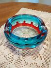Vintage Italian Murano Glass Ashtray