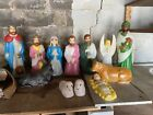 christmas nativity set outdoor
