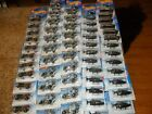 58 LOT HOT WHEELS 1994 Silver Series Complete Set + POLICE HELICOPTER SCHOOL BUS