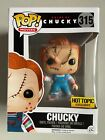 Funko Pop Movies Bride of Chucky #315 BLOODY Hot Topic Exclusive With Protector