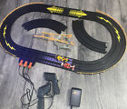 AFX Aurora Slot Car Track Controllers And 2 Cars All Work Perfect Nice A1