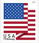 2018 USPS Forever US Flag Postage Stamps Coil of 100 Stamps Free & Fast Shipping