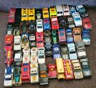 Vintage Lot of 53 Hot Wheels  Matchbox Diecast Cars 70s to Early 90s