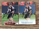 BRIAN LANGTRY 2010 UD MLL Denver OUTLAWS Signed Lacrosse Autograph * Pick a Card