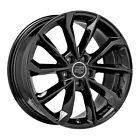 ALLOY WHEEL MSW 42 AUDI A7 Sportback Staggered 8x18 5x112 ET 28 GLOSS BLACK eac
